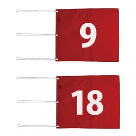 ライト M-111 ナイロン 四角旗 番手付 【サイズ:340×420mm】【ゴルフ】