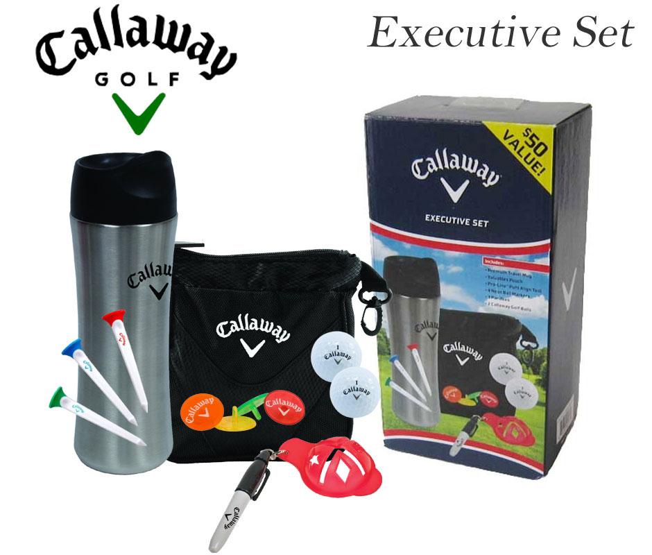 キャロウェイ Callaway  ゴルフアクセサリー エグゼクティブ セット USA直輸入 あす楽対応