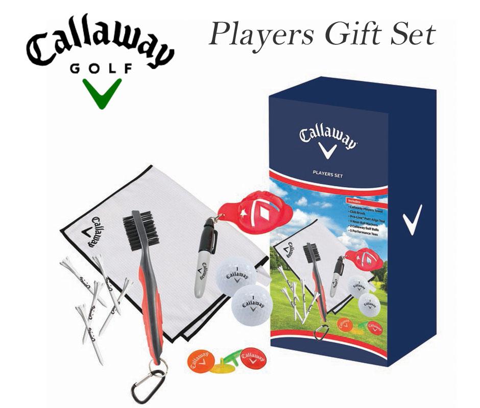 キャロウェイ Callaway  ゴルフアクセサリー プレイヤーズ ギフト セット USA直輸入 あす楽対応