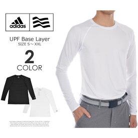 アディダス adidas インナー メンズウエア UPF ベースレイヤー 長袖シャツ 大きいサイズ USA直輸入 あす楽対応