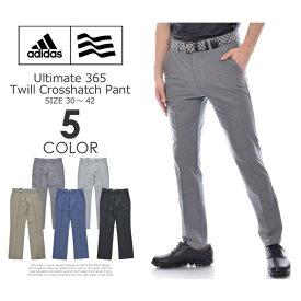 (在庫処分)アディダス adidas ゴルフウェア メンズ ゴルフパンツ ロングパンツ メンズウェア アルティメット 365 ツウィル クロスハッチ パンツ 大きいサイズ USA直輸入 あす楽対応