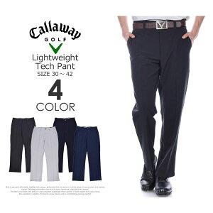 (スペシャル感謝セール)ゴルフパンツ メンズ 春夏 ゴルフウェア メンズ パンツ おしゃれ キャロウェイ Callaway  ゴルフパンツ メンズ ライトウェイト テック パンツ 大きいサイズ USA
