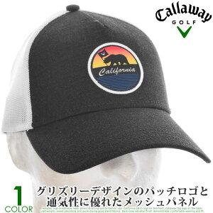 キャロウェイ キャップ 帽子 メンズキャップ おしゃれ メンズウエア ゴルフウェア カリフォルニア トラッカー キャップ あす楽対応