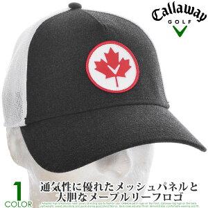 キャロウェイ キャップ 帽子 メンズキャップ おしゃれ メンズウエア ゴルフウェア カナダ トラッカー キャップ あす楽対応