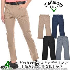 キャロウェイ Callaway ゴルフパンツ メンズ 春夏 ゴルフウェア 5ポケット ホリゾンタル テクスチャ パンツ おしゃれ 大きいサイズ USA直輸入 あす楽対応