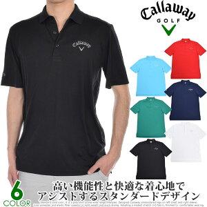 キャロウェイ Callaway シャツ トップス 春夏 おしゃれ ゴルフウェア メンズウェア トーナメント 半袖ポロシャツ 大きいサイズ USA直輸入 あす楽対応