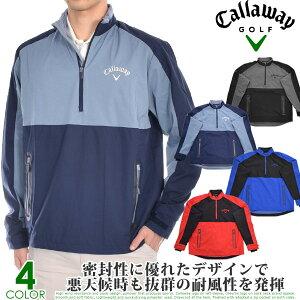 キャロウェイ Callaway ゴルフウェア メンズ おしゃれ 秋冬ウェア 長袖メンズウェア スイング テック 長袖ウインドシャツ 大きいサイズ USA直輸入 あす楽対応