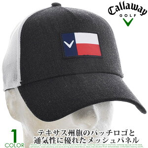 キャロウェイ キャップ 帽子 メンズキャップ おしゃれ メンズウエア ゴルフウェア テキサス トラッカー キャップ あす楽対応