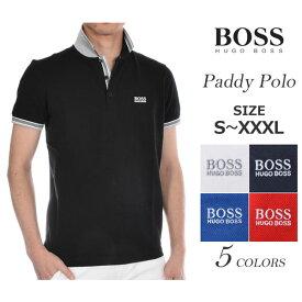 (感謝セール品)ゴルフウェア メンズ シャツ トップス ポロシャツ 春夏 おしゃれ ヒューゴボス HUGO BOSS ゴルフウェア メンズウェア ゴルフ パディ 半袖ポロシャツ 大きいサイズ USA直輸入 あす楽対応