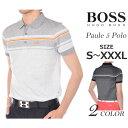ヒューゴボス HUGO BOSS ポール 5 半袖ポロシャツ 大きいサイズ USA直輸入