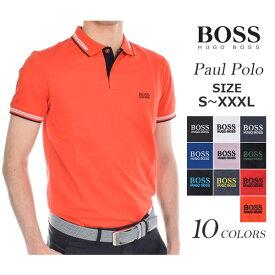 (感謝セール品)ゴルフウェア メンズ シャツ トップス ポロシャツ 春夏 おしゃれ ヒューゴボス HUGO BOSS ゴルフウェア メンズウェア ゴルフ  ポール 半袖ポロシャツ 大きいサイズ USA直輸入 あす楽対応