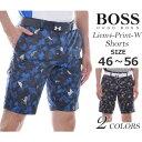ヒューゴボス HUGO BOSS ショートパンツ メンズ リーム4-プリント-W ショートパンツ 大きいサイズ USA直輸入