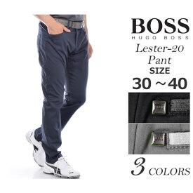 ゴルフパンツ メンズ 春夏 ゴルフウェア メンズ パンツ おしゃれ (在庫処分)ヒューゴボス HUGO BOSS メンズウェア ゴルフ パンツ ウェア ロングパンツ ボトム レスター-20 パンツ 大きいサイズ USA直輸入 あす楽対応