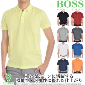 ヒューゴボス HUGO BOSS ゴルフウェア メンズ シャツ トップス ポロシャツ 春夏 おしゃれ メンズウェア ピロ 半袖ポロシャツ 大きいサイズ USA直輸入 あす楽対応