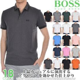 ヒューゴボス HUGO BOSS ゴルフウェア メンズ メンズウェア シャツ トップス ポロシャツ 春夏 おしゃれ パディ 半袖ポロシャツ 大きいサイズ USA直輸入 あす楽対応