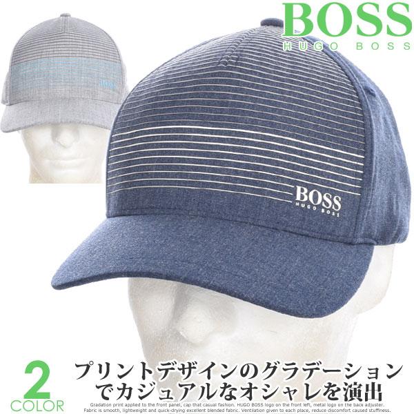 ヒューゴボス HUGO BOSS キャップ 帽子 メンズキャップ おしゃれ メンズウエア ゴルフウェア メンズ グラディエント キャップ USA直輸入 あす楽対応