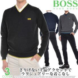 ヒューゴボス HUGO BOSS ゴルフウェア メンズ おしゃれ 秋冬ウェア 長袖メンズウェア ゴルフ ヴィメックス 長袖セーター 大きいサイズ USA直輸入 あす楽対応