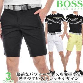 ヒューゴボス HUGO BOSS ゴルフウェア メンズ 春 夏 ゴルフパンツ ハーフパンツ おしゃれ メンズウェア リーム 4-10 ショートパンツ 大きいサイズ USA直輸入 あす楽対応