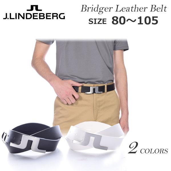 (在庫処分)Jリンドバーグ J.LINDEBERG  ベルト ゴルフベルト メンズ ゴルフウェア ブリッジャー レザー ベルト USA直輸入 あす楽対応 平成最後セール 令和記念