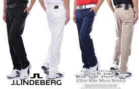 (スペシャル感謝セール)ゴルフパンツ メンズ 春夏 ゴルフウェア おしゃれ Jリンドバーグ J.LINDEBERG  メンズウェア ウェア ロングパンツ   ボトム Jリンドバーグ スリム マイクロ パンツ 大きいサイズ USA直輸入 あす楽対応