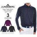 ジェイリンドバーグ J LINDEBERG 長袖メンズゴルフウエア ツアー テック スリム TX 長袖ポロシャツ 大きいサイズ USA直輸入 あす楽対応