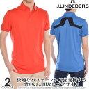 ゴルフウェア メンズ シャツ トップス ポロシャツ 春夏 おしゃれ Jリンドバーグ J.LINDEBERG ゴルフウェア メンズウ…