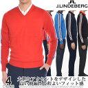 (スペシャル感謝セール)ジェイリンドバーグ J LINDEBERG ゴルフウェア メンズ 秋冬ウェア 長袖メンズウェア ノーラ…