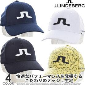 Jリンドバーグ J.LINDEBERG  キャップ 帽子 メンズキャップ メンズウエア ゴルフウェア メンズ キャデン テック メッシュ キャップ USA直輸入 あす楽対応