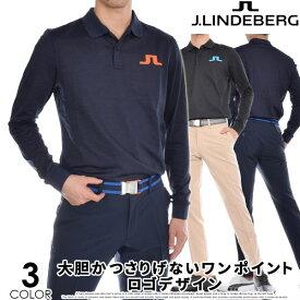 ジェイリンドバーグ J LINDEBERG 長袖メンズゴルフウェア ビッグ ブリッジ レギュラー TX ブラッシュ 長袖ポロシャツ 大きいサイズ USA直輸入 あす楽対応
