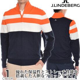 ジェイリンドバーグ J LINDEBERG ゴルフウェア メンズ 秋冬ウェア 長袖メンズウェア ヘンリー ウール クールマックス 長袖セーター 大きいサイズ USA直輸入 あす楽対応