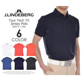 ゴルフウェア メンズ シャツ トップス ポロシャツ 春夏 おしゃれ Jリンドバーグ J.LINDEBERG ゴルフウェア メンズウェア ゴルフポロシャツ ポロ ツアー テック TX ジャージー 半袖ポロシャツ 大きいサイズ USA直輸入 あす楽対応