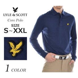 ライルアンドスコット LYLE&SCOTT ゴルフウェア メンズ おしゃれ 秋冬ウェア 長袖メンズウェア ゴルフ コア 長袖ポロシャツ 大きいサイズ USA直輸入 あす楽対応