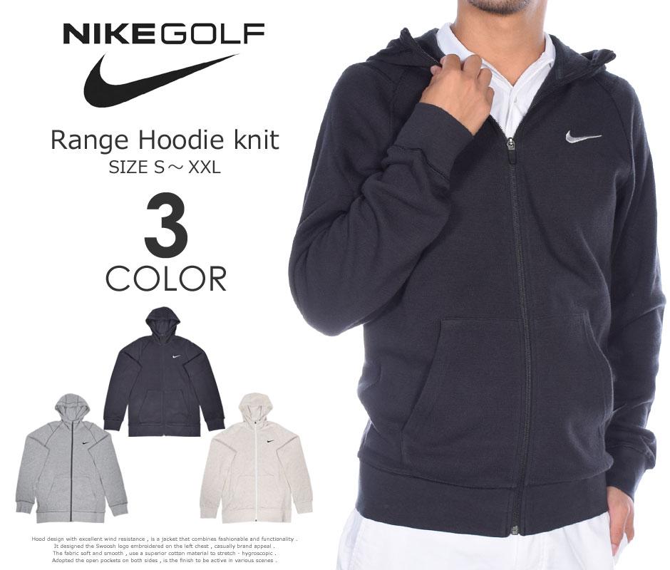 (在庫処分)ナイキ Nike ゴルフウェア メンズ 秋冬ウェア 長袖メンズウェア ゴルフ レンジ フーディー ニット 長袖ジャケット 大きいサイズ USA直輸入 あす楽対応