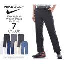 ナイキ ゴルフパンツ メンズ ボトム メンズウェア フレックス ハイブリッド ウーブン パンツ 大きいサイズ
