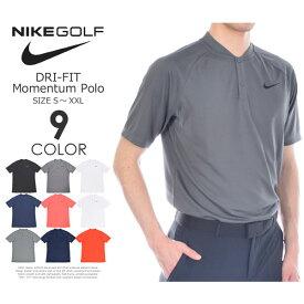(限定★ポイント5倍)ゴルフウェア メンズ シャツ トップス ポロシャツ 春夏 おしゃれ ナイキ Nike ゴルフウェア メンズウェア ゴルフ DRI-FIT モーメンタム 半袖ポロシャツ 大きいサイズ USA直輸入 あす楽対応