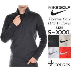 ナイキ Nike ゴルフウェア メンズ 秋冬ウェア 長袖メンズウェア ゴルフ サーマ コア ハーフジップ 長袖プルオーバー 大きいサイズ USA直輸入 あす楽対応