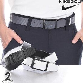 ナイキ Nike ベルト ゴルフベルト メンズ おしゃれ ゴルフウェア カーボンファイバー マット リバーシブル ベルト 大きいサイズ USA直輸入 あす楽対応