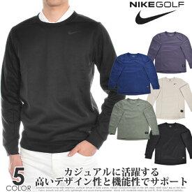 ナイキ Nike ゴルフウェア メンズ おしゃれ 秋冬ウェア 長袖メンズウェア ゴルフ サーマ リペル クルー 長袖プルオーバー 大きいサイズ USA直輸入 あす楽対応