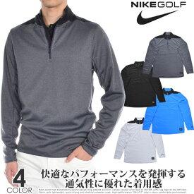 (ポイント5倍)ナイキ Nike ゴルフウェア メンズ おしゃれ 秋冬ウェア 長袖メンズウェア ゴルフ Dri-FIT ハーフジップ コア 長袖プルオーバー 大きいサイズ USA直輸入 あす楽対応