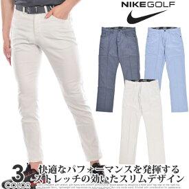 ナイキ Nike ゴルフパンツ メンズ ゴルフウェア メンズ パンツ おしゃれ フレックス 6 ポケット スリム パンツ 大きいサイズ USA直輸入 あす楽対応