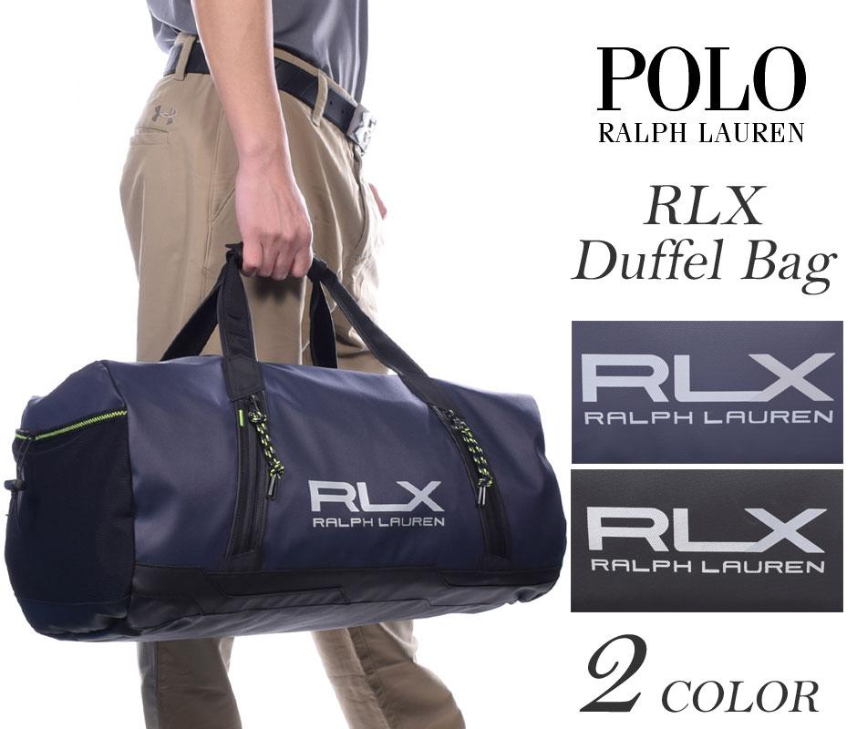ポロゴルフ ラルフローレン バッグ RLX ダッフルバッグ USA直輸入 あす楽対応