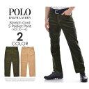 ポロゴルフ ラルフローレン ゴルフパンツ メンズ パンツ ストレッチ コーデュロイ 5ポケット パンツ 大きいサイズ USA直輸入 あす楽対応