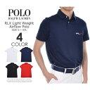 ポロゴルフ ラルフローレン ゴルフウェア メンズウェア ゴルフ RLX ライトウェイト エアフロー 半袖ポロシャツ 大きいサイズ USA直輸入 あす楽対応