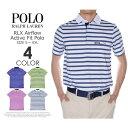 ポロゴルフ ラルフローレン RLX エアフロー アクティブ フィット 半袖ポロシャツ 大きいサイズ USA直輸入