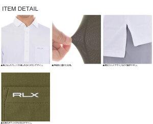 ポロゴルフラルフローレンメンズウエアRLXテックピケ長袖ポロシャツ大きいサイズUSA直輸入あす楽対応