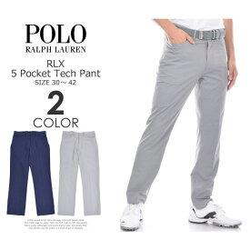 ゴルフパンツ メンズ 春夏 ゴルフウェア メンズ パンツ おしゃれ (在庫処分)ポロゴルフ ラルフローレン ゴルフパンツ メンズ おしゃれ パンツ RLX 5ポケット テック パンツ 大きいサイズ USA直輸入 あす楽対応