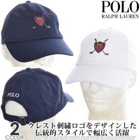 ポロゴルフ ラルフローレン キャップ 帽子 メンズキャップ ゴルフウェア クレスト クラブ スポーツ キャップ USA直輸入 あす楽対応