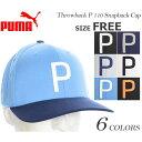 プーマ Puma キャップ 帽子 メンズキャップ メンズウエア ゴルフウェア メンズ スローバック P 110 スナップバッ…