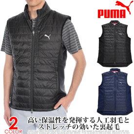 プーマ Puma ゴルフウェア メンズウェア ゴルフベスト キルト プリマロフト ベスト 大きいサイズ USA直輸入 あす楽対応