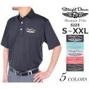 ストレートダウン StraightDown ゴルフ シューマン 半袖ポロシャツ 大きいサイズ USA直輸入 あす楽対応